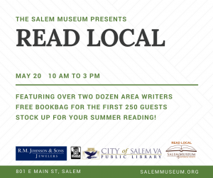 Smoke Rising Book at Salem Museum Read Local Event – OMNI